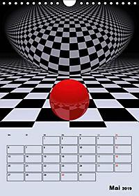 OpArt und mehr (Wandkalender 2019 DIN A4 hoch) - Produktdetailbild 5