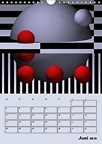 OpArt und mehr (Wandkalender 2019 DIN A4 hoch) - Produktdetailbild 6