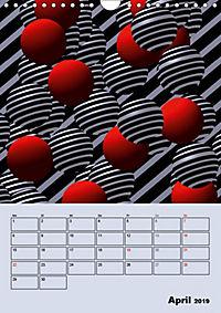 OpArt und mehr (Wandkalender 2019 DIN A4 hoch) - Produktdetailbild 4