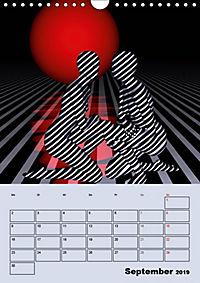 OpArt und mehr (Wandkalender 2019 DIN A4 hoch) - Produktdetailbild 9