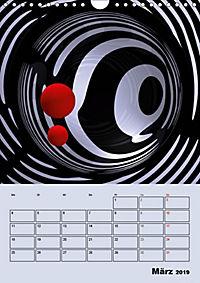 OpArt und mehr (Wandkalender 2019 DIN A4 hoch) - Produktdetailbild 3