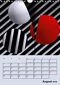 OpArt und mehr (Wandkalender 2019 DIN A4 hoch) - Produktdetailbild 8