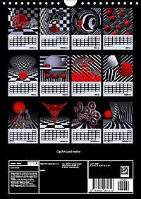 OpArt und mehr (Wandkalender 2019 DIN A4 hoch) - Produktdetailbild 13