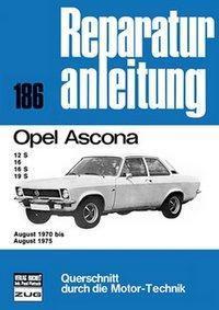 Opel Ascona August 1970 bis August 1975 -  pdf epub