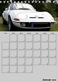 Opel GT Terminplaner (Tischkalender 2019 DIN A5 hoch) - Produktdetailbild 1