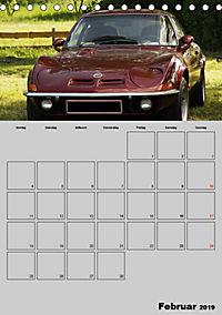 Opel GT Terminplaner (Tischkalender 2019 DIN A5 hoch) - Produktdetailbild 2