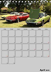 Opel GT Terminplaner (Tischkalender 2019 DIN A5 hoch) - Produktdetailbild 4