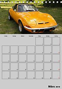 Opel GT Terminplaner (Tischkalender 2019 DIN A5 hoch) - Produktdetailbild 3