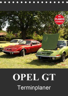 Opel GT Terminplaner (Tischkalender 2019 DIN A5 hoch), Anja Bagunk