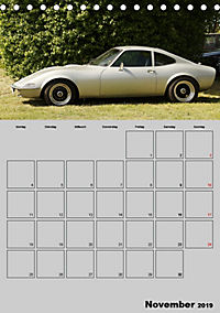 Opel GT Terminplaner (Tischkalender 2019 DIN A5 hoch) - Produktdetailbild 11