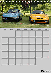 Opel GT Terminplaner (Tischkalender 2019 DIN A5 hoch) - Produktdetailbild 5