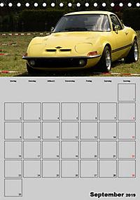 Opel GT Terminplaner (Tischkalender 2019 DIN A5 hoch) - Produktdetailbild 9