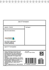 Opel GT Terminplaner (Tischkalender 2019 DIN A5 hoch) - Produktdetailbild 13