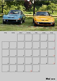 Opel GT Terminplaner (Wandkalender 2019 DIN A2 hoch) - Produktdetailbild 5