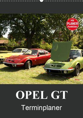 Opel GT Terminplaner (Wandkalender 2019 DIN A2 hoch), Anja Bagunk