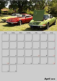 Opel GT Terminplaner (Wandkalender 2019 DIN A2 hoch) - Produktdetailbild 4