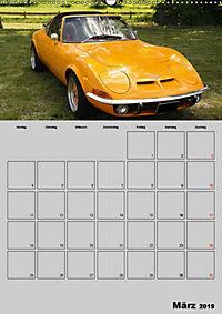 Opel GT Terminplaner (Wandkalender 2019 DIN A2 hoch) - Produktdetailbild 3