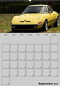 Opel GT Terminplaner (Wandkalender 2019 DIN A2 hoch) - Produktdetailbild 9