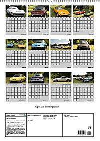 Opel GT Terminplaner (Wandkalender 2019 DIN A2 hoch) - Produktdetailbild 13