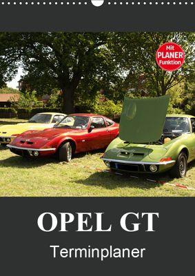 Opel GT Terminplaner (Wandkalender 2019 DIN A3 hoch), Anja Bagunk