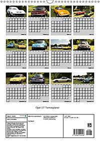 Opel GT Terminplaner (Wandkalender 2019 DIN A3 hoch) - Produktdetailbild 13