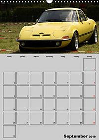 Opel GT Terminplaner (Wandkalender 2019 DIN A3 hoch) - Produktdetailbild 9