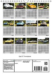Opel GT Terminplaner (Wandkalender 2019 DIN A4 hoch) - Produktdetailbild 13