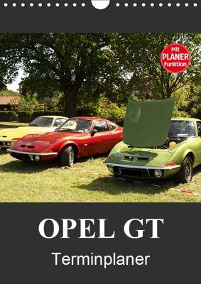Opel GT Terminplaner (Wandkalender 2019 DIN A4 hoch), Anja Bagunk