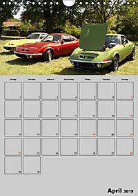 Opel GT Terminplaner (Wandkalender 2019 DIN A4 hoch) - Produktdetailbild 4