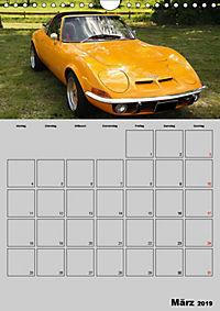 Opel GT Terminplaner (Wandkalender 2019 DIN A4 hoch) - Produktdetailbild 3
