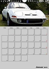 Opel GT Terminplaner (Wandkalender 2019 DIN A4 hoch) - Produktdetailbild 1