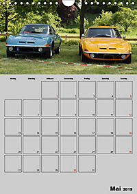 Opel GT Terminplaner (Wandkalender 2019 DIN A4 hoch) - Produktdetailbild 5