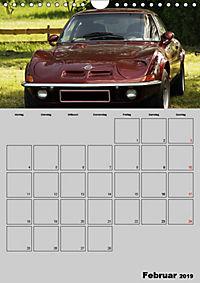 Opel GT Terminplaner (Wandkalender 2019 DIN A4 hoch) - Produktdetailbild 2