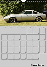 Opel GT Terminplaner (Wandkalender 2019 DIN A4 hoch) - Produktdetailbild 11