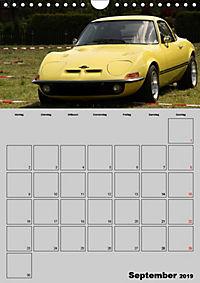 Opel GT Terminplaner (Wandkalender 2019 DIN A4 hoch) - Produktdetailbild 9