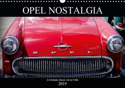 Opel Nostalgia (Wall Calendar 2019 DIN A3 Landscape), Henning von Löwis of Menar