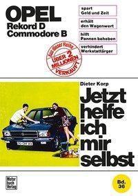 Opel Rekord D / Commodore D, Dieter Korp