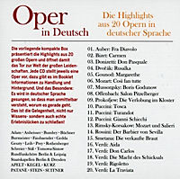 Oper in Deutsch, 20 CDs - Produktdetailbild 1
