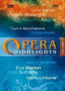 Opera Highlights Volume 1, Diverse Interpreten