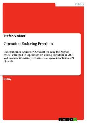 Operation Enduring Freedom, Stefan Vedder
