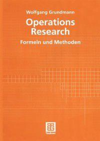 Operations Research, Wolfgang Grundmann