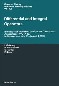 Operator Theory: Advances and Applications: Differential and Integral Operators