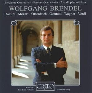 Opernarien:Figaro/Don Giovanni/Tannhäuser/+, Brendel, Wallberg, Mro