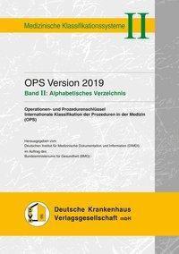 OPS Version 2019. Band II: Alphabetisches Verzeichnis