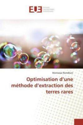 Optimisation d'une méthode d'extraction des terres rares, Montassar Romdhani
