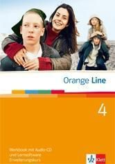 Orange Line: Bd.4 Klasse 8, Workbook m. Audio-CD u. CD-ROM, Erweiterungskurs