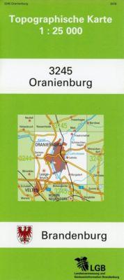 Oranienburg 1 : 25 000