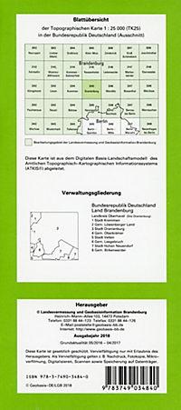 Oranienburg 1 : 25 000 - Produktdetailbild 1