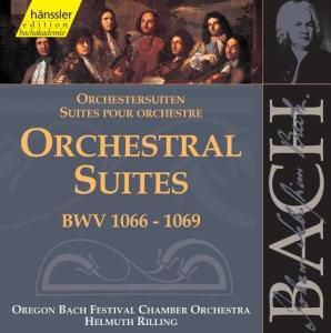 Orchestersuiten Bwv 1066-1069, Johann Sebastian Bach