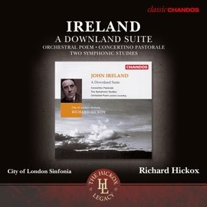 Orchesterwerke-A Downland Suite/Concertino Past., Hickox, City Of London Sinfonia